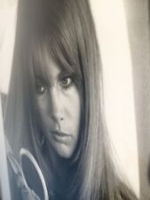 "**FRAMED** Limited Edition 'Jean Shrimpton' 1966 Original 21x16"" Darkroom print"