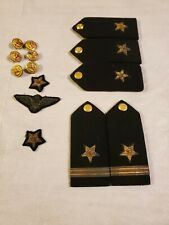 WW2 USN US Navy Dress Uniform Epaulettes Shoulder Boards  Commander Lot