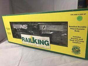 MIB 70-74003 RAIL KING ONE-GAUGE G SCALE Norfolk   Southern 40' BOX CAR Tr127