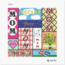 Mom Needlepoint Canvas (Valentine)