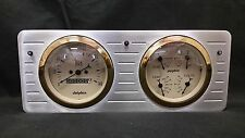 1940 1941 1942 1943 1944 1945 1946 1947 FORD TRUCK QUAD GAUGE DASH CLUSTER GOLD