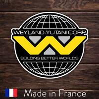 Autocollant Sticker Alien Weyland-Yutani Logo, Laptop Mur Smartphone, 9cm LSW003