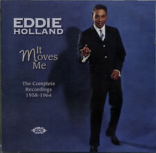 """EDDIE HOLLAND  """"IT MOVES ME""""  THE COMPLETE RECORDINGS 1958-1964  56 TRACKS 2 CD"""