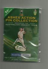 BRETT LEE  THE ASHES   CRICKET  -- PIN BADGE