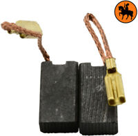 Escobillas de carbón para Kress - 5x8x14,5mm - Reemplaza 24837