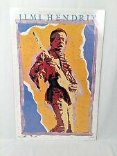 1986 Jimi Hendrix Poster #8057 Published & Distributed by OSP