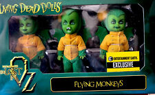 "Mezco Living Dead Dolls Ee Exclusive "" Flying Monkeys "" Wizard of Oz Land of Oz"