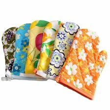 Resistant Non-Slip Accessory Cooking Tools Oven Mitts Microwave Gloves Kitchen
