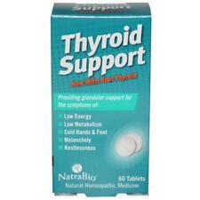 Thyroid Support, 60 Tablets - Natrabio
