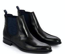Men's Ted Baker London Travic Chelsea Boot Black Leather size 10US