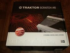 Native Instruments Traktor Scratch A6 with license transfer *No vinyl included*