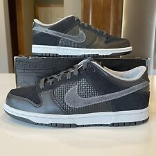 Mens Nike DUNK LOW 6.0 Shoes -Black/Anthracite -314142 005 -RARE -Sz 8 -New