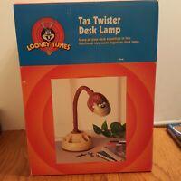 VTG TASMANIAN DEVIL Twister Desk Lamp Bendable Light Warner Bros Looney Tunes