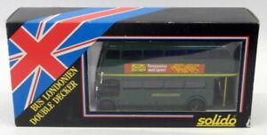 Solido 1/50 Scale Model Bus D4450 - Londonien Double Decker - London Country