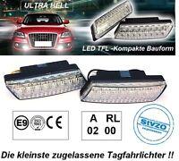 Kompakte LED Tagfahrleuchten Dimm-Modus 16 SMD Tagfahrlicht PKW und Motorrad