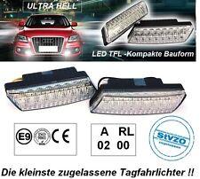 ULTRA KLEINE LED Tagfahrleuchten R87 Modul E-Prüfzeichen 16SMD PKW Tagfahrlicht