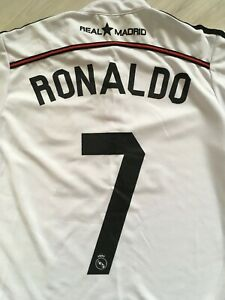 REAL MADRID Cristiano Ronaldo Football Shirt #7 Soccer Jersey