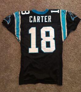 Carolina Panthers Drew Carter Game Worn/Used Jersey