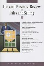 Harvard Business Review Paperback: Harvard Business Review on Sales and Selling
