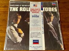THE ROLLING STONES ~ ENGLAND'S NEWEST HIT MAKERS JAPAN LP WITH OBI ~ SEALED