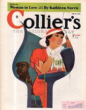 1934 Colliers July 21 - Casey Stengel Brooklyn Dodgers; Frank Buck; Steig