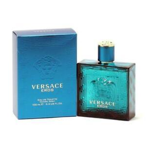 Versace Eros Men Eau De Toilette Spray 3.4 Fl Oz
