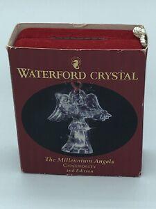 WATERFORD CRYSTAL MILLENNIUM ANGEL GENEROSITY 2nd ed ORNAMENT