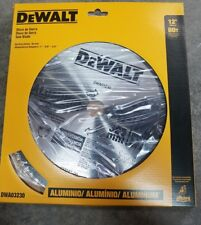 """DEWALT DWA03230 SAW BLADE 12"""" 80 TEETH ALUMINUM"""