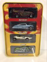 40th Anniversary 4 Car Tin Case Set Hot Wheels L8370