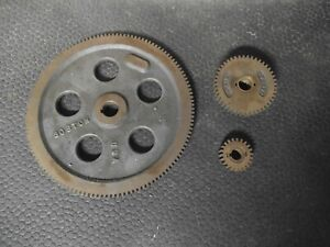 """South Bend 9"""" , Clausing, Atlas other 127 tooth Metric Change gear set"""