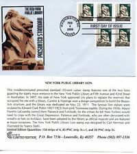 US FDC #3769 Lion PNC3 Plate S11111, Cover Craft (5178)