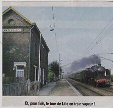 1980  --  TRAIN VAPEUR EN GARE DE LAMBERSAT   3F671