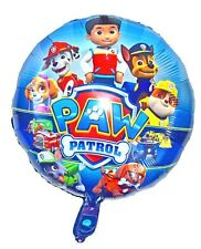 Paw Patrol Theme Round Foil Balloon Party Party Decoration