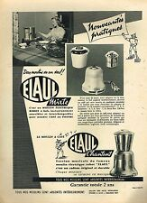 E- Publicité Advertising 1957 Le Moulin à café electrique ELAUL