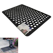 Heavy Duty Non-Slip Door Entrance Hallway Outdoor Rubber Kitchen Honeycomb Mat