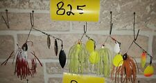 Lot Of 4 New Booyah Spinnerbaits  (Lot#825 )