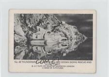 1966 #48 Thunderbird 4 Underwater and Ocean Going Rescue Non-Sports Card 0s4