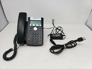 EUC Polycom SoundPoint IP 331 SIP VoIP PoE Desktop Business Phone & Power supply