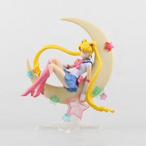 New 21CM Sailor Moon Usagi Tsukino PVC Anime Figure Collection Toy No Box