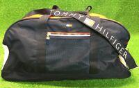 "TOMMY HILFIGER 21"" Duffle Gym Travel Bag Long Shoulder Strap Excellent Condition"