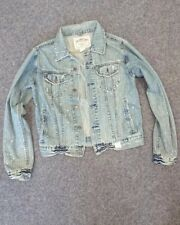 Abercrombie&Fitch Herrenjeansjacke in L neu ohne Etikett , stylisch, blau A&F