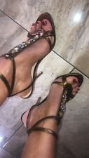 Ladies Guess Shoes Heels With Straps Size UK 5 EUR 38