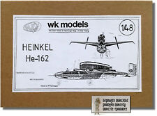 Heinkel HE 162 'Volksjäger' - 1:48 - WK Models - NEU in BOX