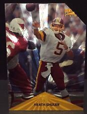 HEATH SHULER 1996 Pinnacle Trophy Collection PROMO Clipped Corner #114 REDSKINS