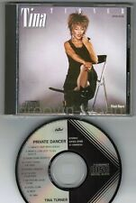 TINA TURNER Private Dancer JAPAN CD CP35-3148 2A1 1984 1st issue BLACK TRIANGLE
