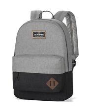 """Dakine 365 PACK 21L Sellwood Grey Black Zip Closure 15"""" Laptop Sleeve Backpack"""