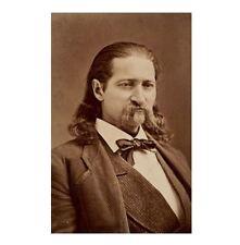 1874 Wild Bill Hickok PHOTO Calamity Jane Pal, Deadwood Gunfighter Killed