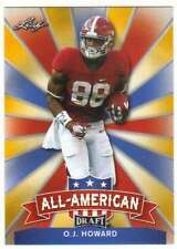 2017 Leaf Draft Football All-American Gold #AA-17 O.J. Howard