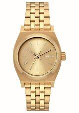 Nixon Watch Medium Time Teller All Gold 31 Mm