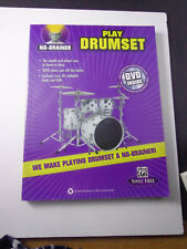 * no brainer: Play Drumset-Songbook Instructional With Dvd new